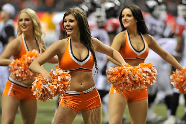 CFL Cheerleaders Salaries