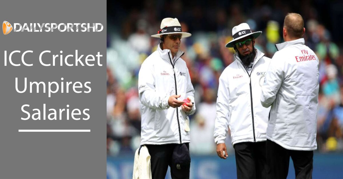 ICC Cricket Umpires Salaries