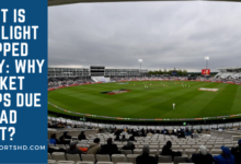 What is bad light stopped play Why cricket stops due to bad light