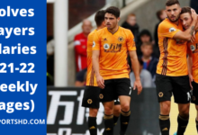 Wolves Players Salaries Weekly Wages